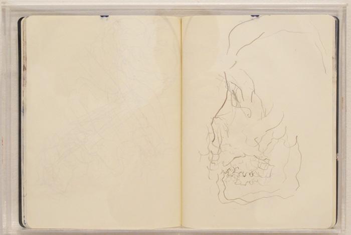 Christofer Amel, Camden , 2012,sketch book,10 3/4 x 15 3/4 in