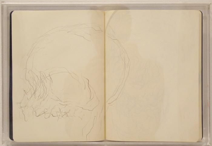Christofer Amel, Elephant & Castle , 2012,sketch book,10 3/4 x 15 3/4 in