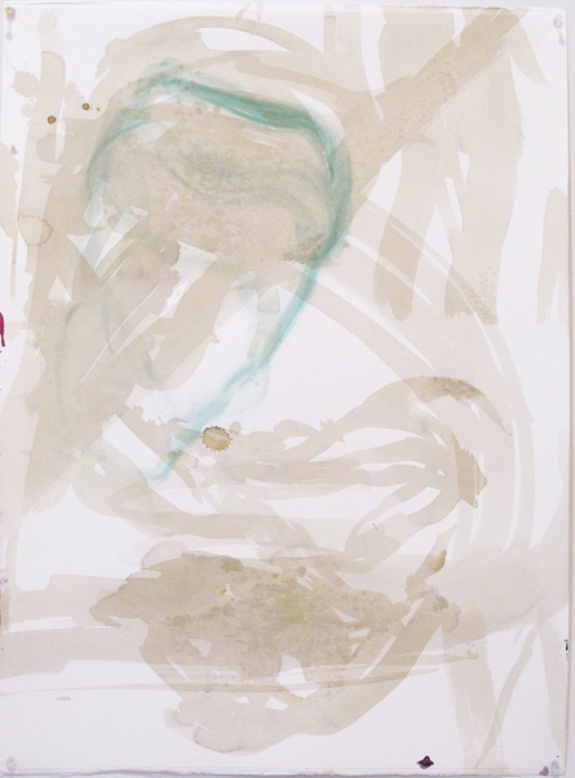 Christofer Amel,  Untitled (2) , 2012, acrylic, pencil, charcoal on Fabriano paper, 30 x 22 in