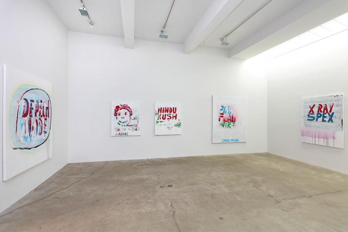Installation view, Dan McCarthy , STL, NY, 2013