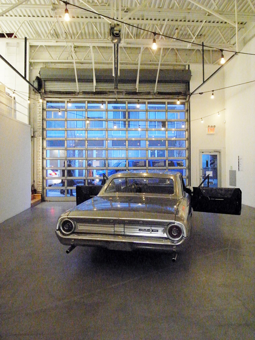 Installation view,  Ford Galaxie , Swiss Institute, New York, 2013