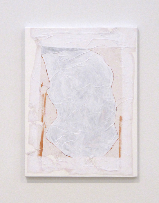 Christopher Green, Untitled (Beuys at work) , 2011, mixed material on birch panel,16 x 12 in