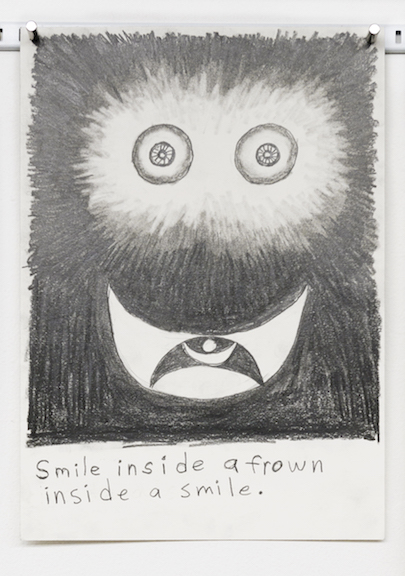 Charles Irvin, Untitled , 2015,graphite on paper,11.75 x 8.25 in