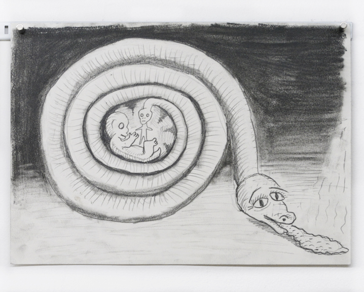 Charles Irvin, Untitled , 2015,graphite on paper,8.25 x 11.75 in