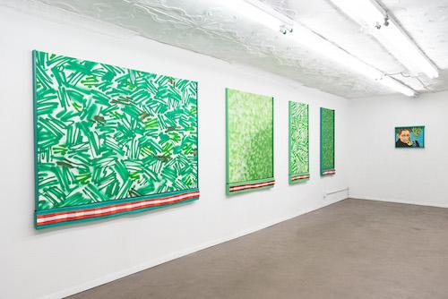 Installation view, Seedless_Grapes_<3 , STL, NY, 2016