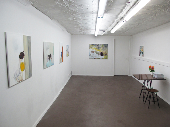 Installation view,  Tables and Landscapes , STL, NY, 2016