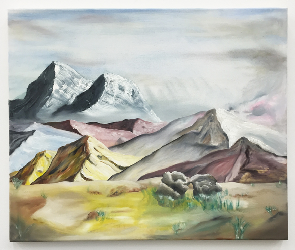 Urban Zellweger, Couples , 2016, oil on canvas, 19.7 x 23.6 in