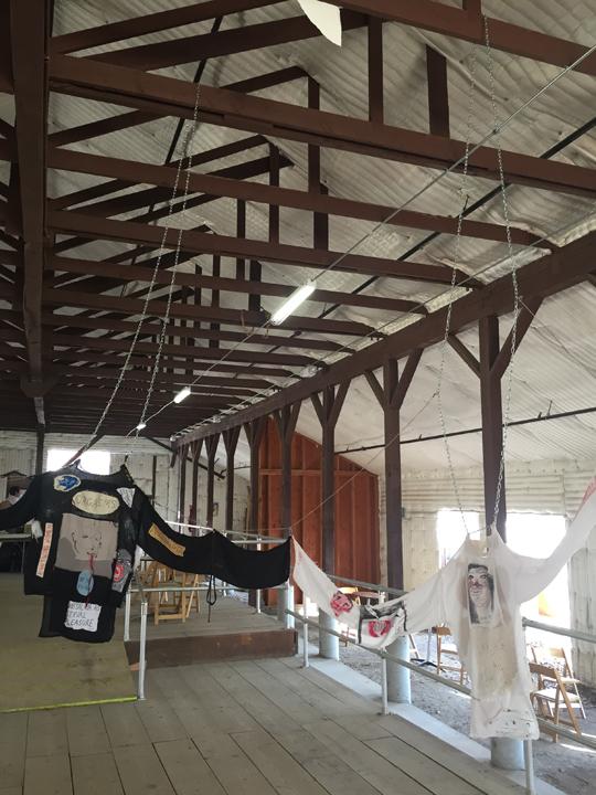 Installation view, Paramount Ranch, Los Angeles,2016