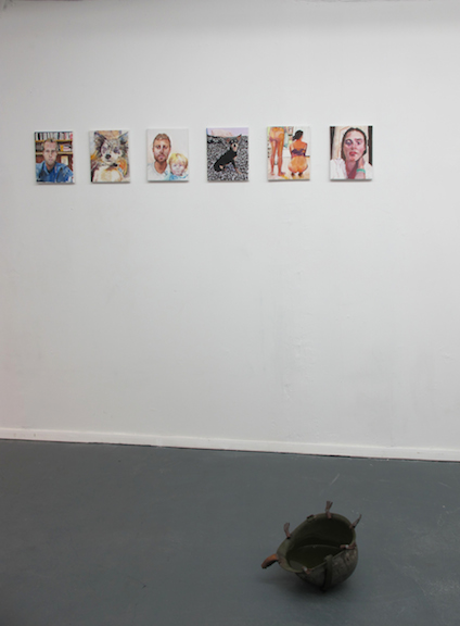 Installation view,  Pet Sematary , STL, NY, 2015