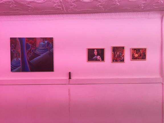 Installation view, Charmed , STL, NY,2015
