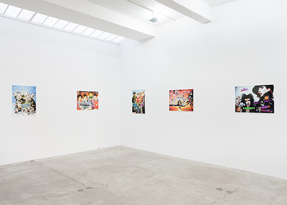 Installation view,  Poster Child , STL, NY, 2013