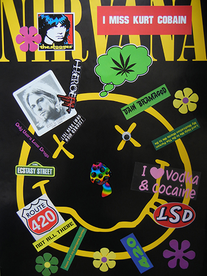 Bruce Pavlow,  I Miss Kurt Cobain , 2013, 24 x 32 in, Edition of 3 plus II AP
