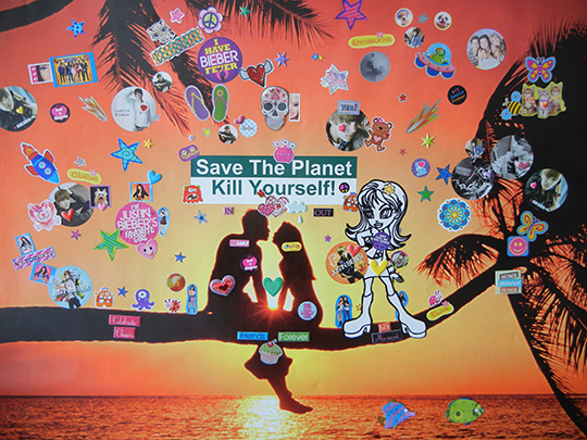 Bruce Pavlow, Save the Planet, 2013, 24 x 32 in, Edition of 3 plus II AP