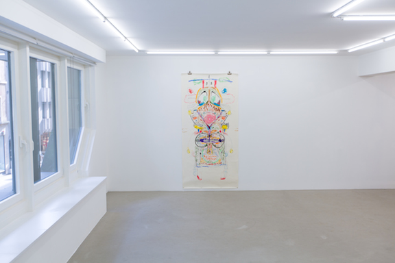 Installation view,  Quartering Myself , STL, Luxembourg, 2014