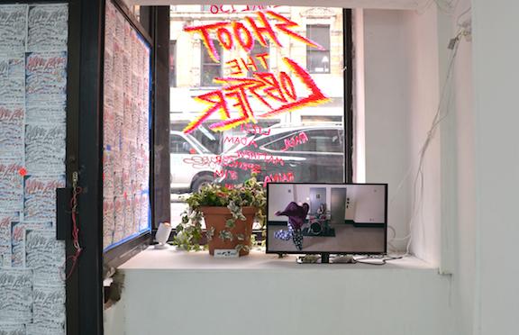 Installation view, Manic Panic , STL, NY, 2014