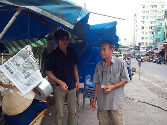 Installation view, New York Times Trap - Vietnam Version , STL, Saigon, 2014