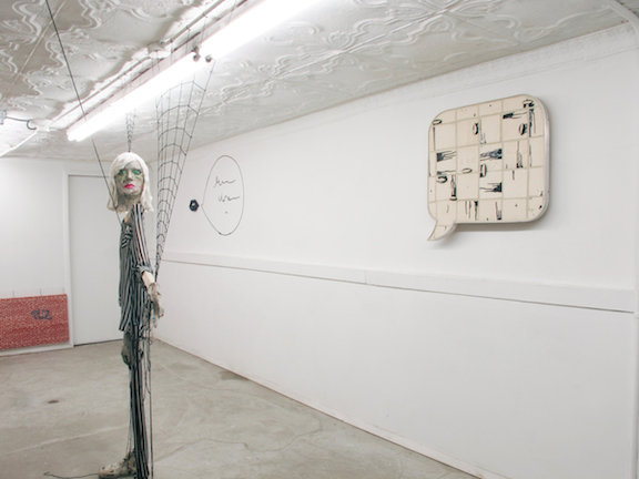 Installation view, Dead End Street , STL, NY, 2015