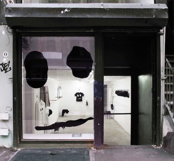 Installation view,  UNISEX BASICS BY BOZIDAR BRAZDA , STL, NY, 2015