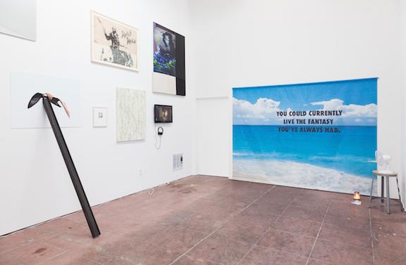 Installation view, Scripted Spaces , Martos Gallery, Los Angeles, 2014