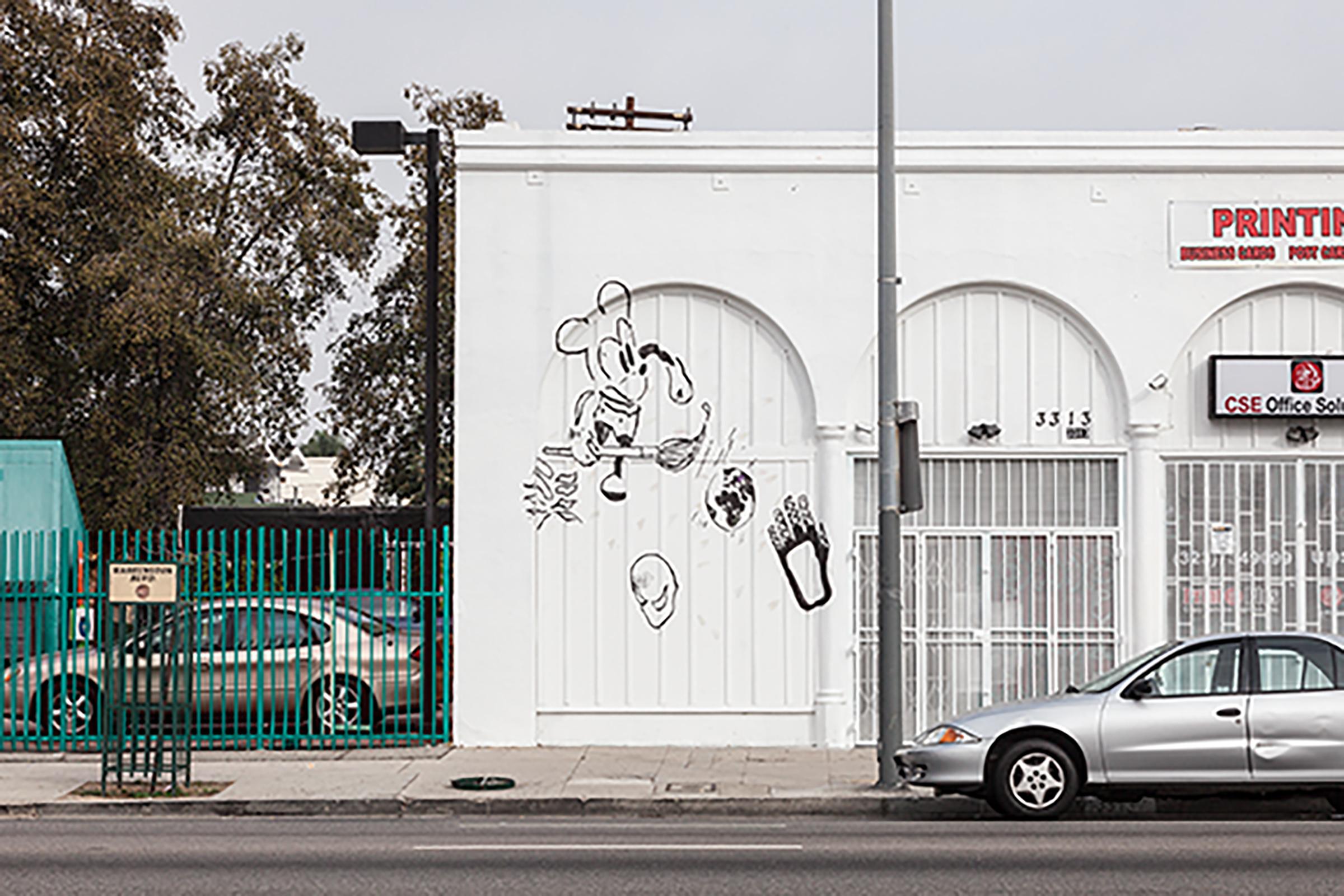 Installation view, Pretty Papaya , Martos Gallery, Los Angeles, 2014
