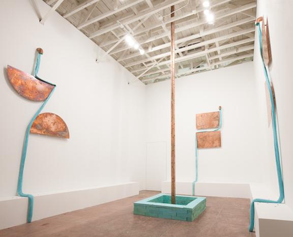 Installation view, EBB , Martos Gallery, Los Angeles, 2015