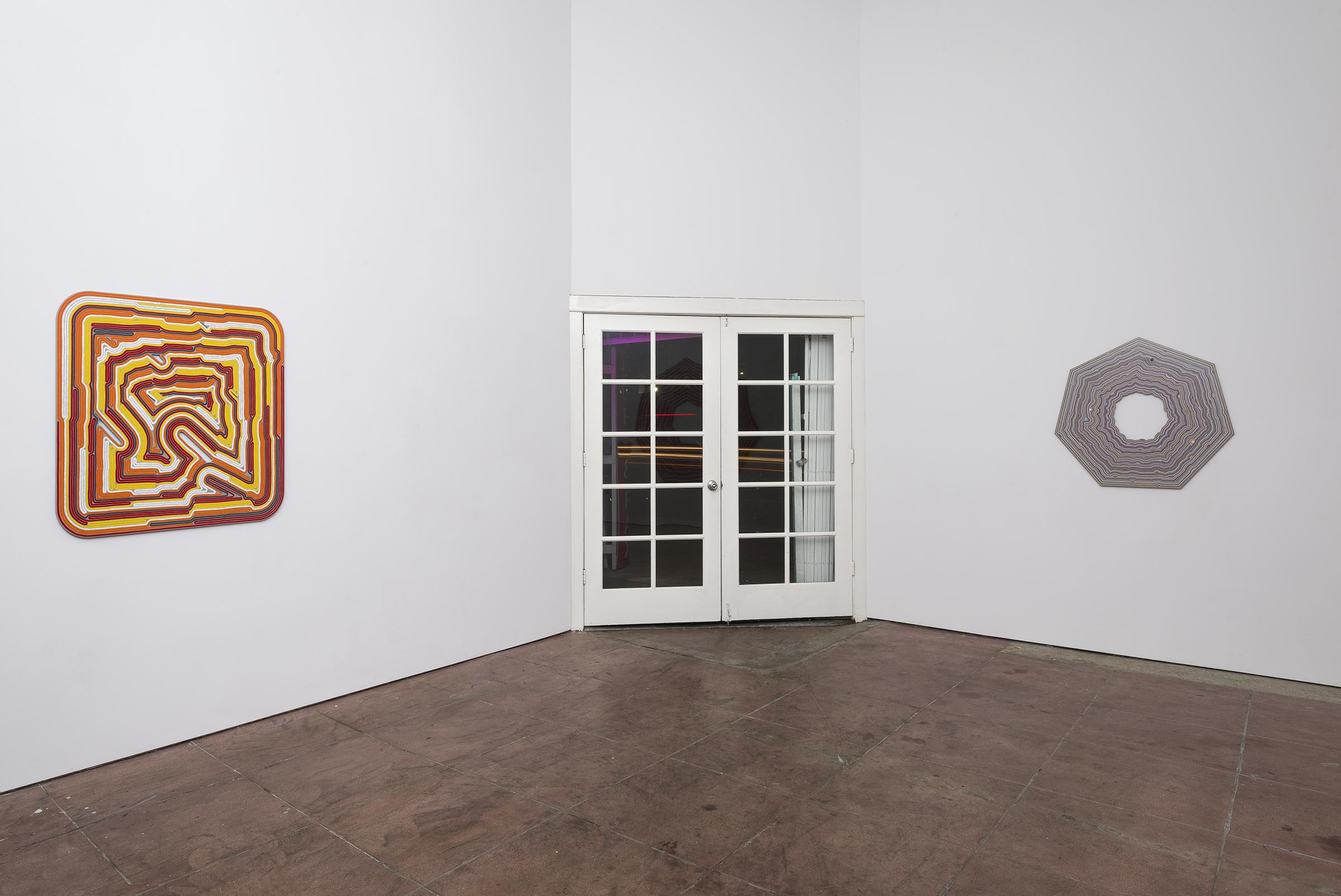 Installation view, The True Organization of Things ,Martos Gallery, Los Angeles, 2016