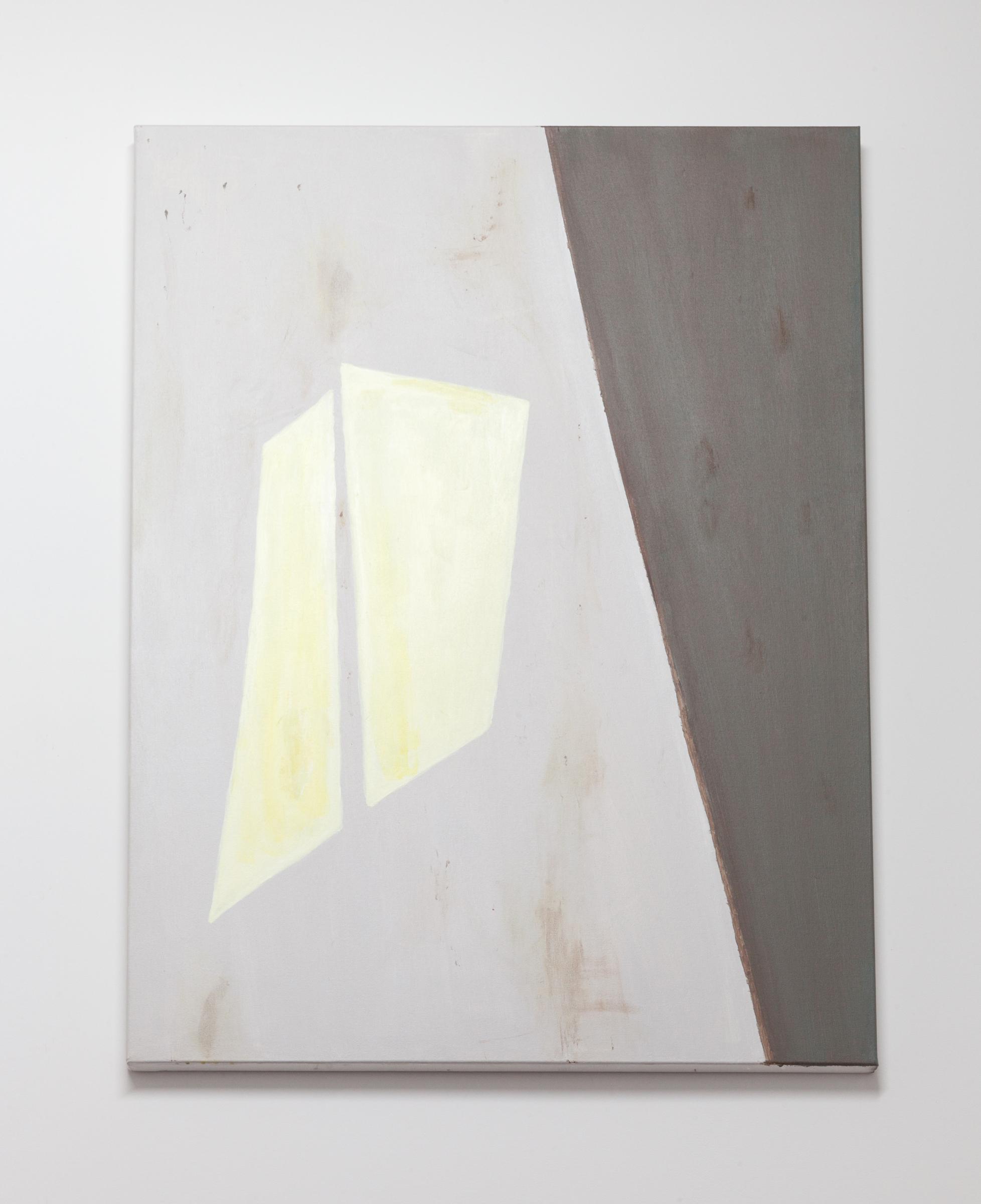 Jocko Weyland, Stairwell , 2014,acrylic on canvas,48 x 36 in