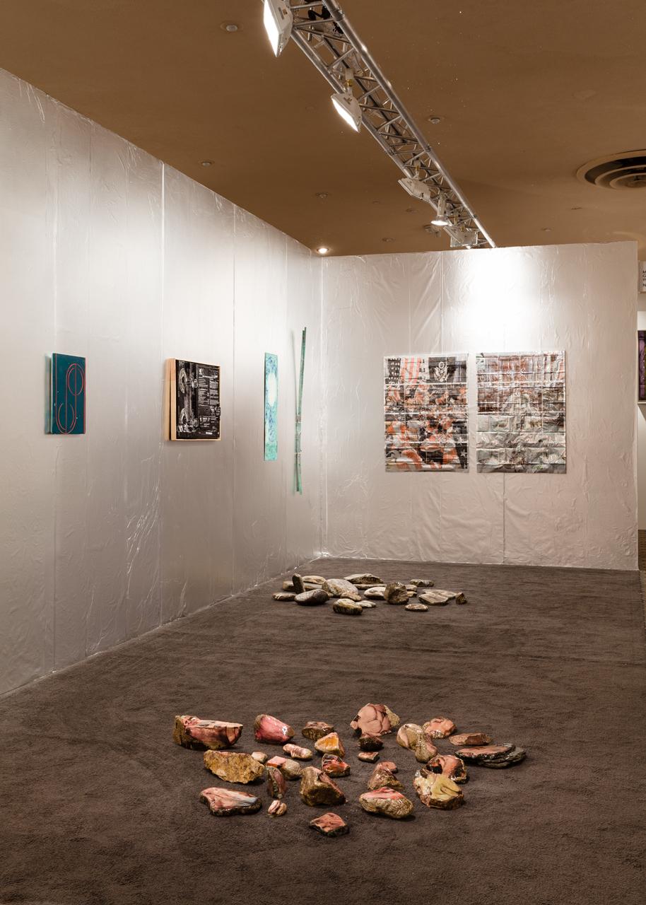 Installation view, NADA, Miami Beach, 2013