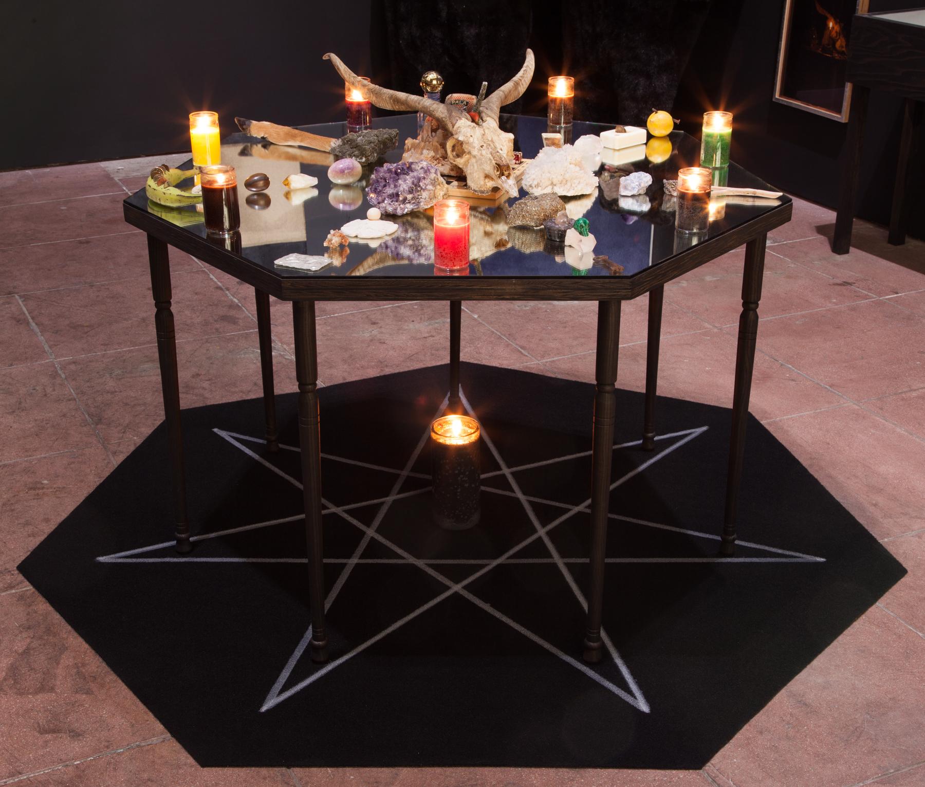 Installation view, Astral Oracles,  STL, LA, 2016