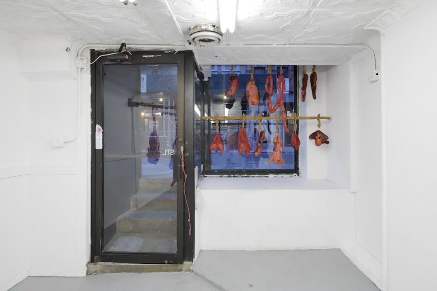 Installation view, Wolf Whistles, STL, NY, 2016