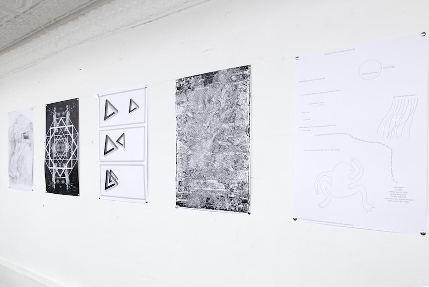 Installation view, New World UNLTD , STL, NY, 2016
