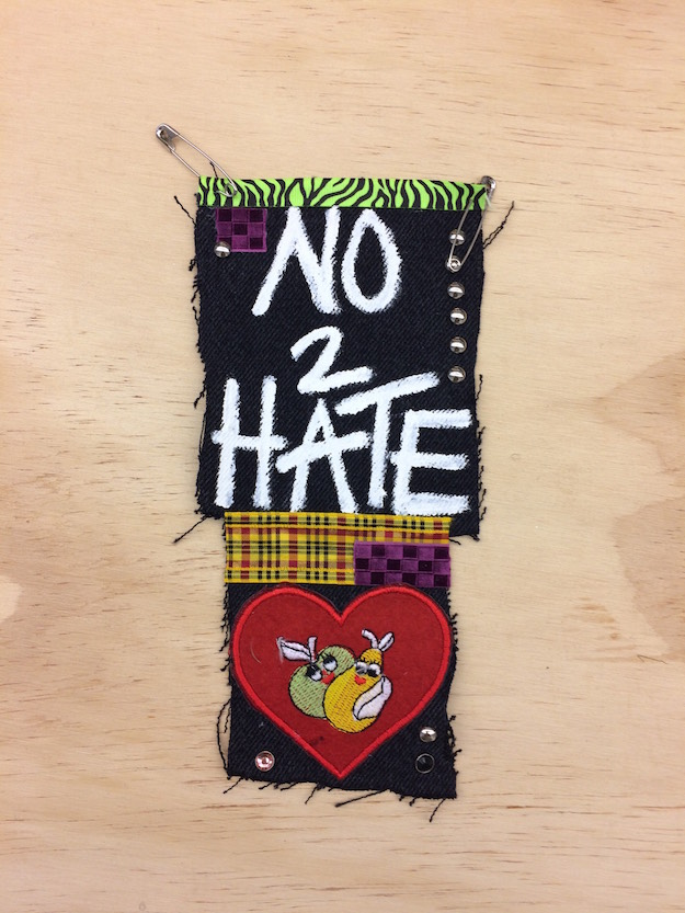 Taylor Trabulus and Will Sheldon,  No 2 Hate Patch,  2016