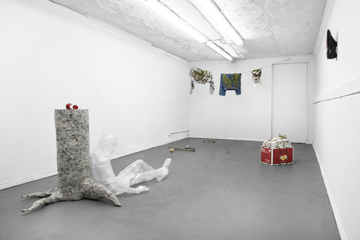 Installation view, How to Do Nothing with Nobody All Alone by Yourself,  STL, NY, 2017