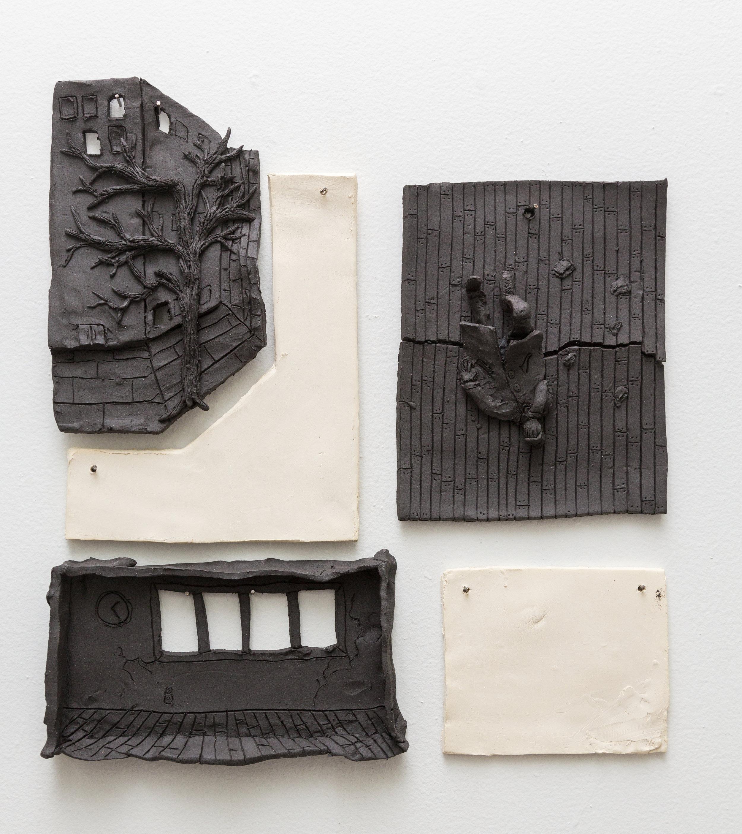Tom Forkin, a.m.,  2017,unglazed ceramic,18 x 16 x 2 in