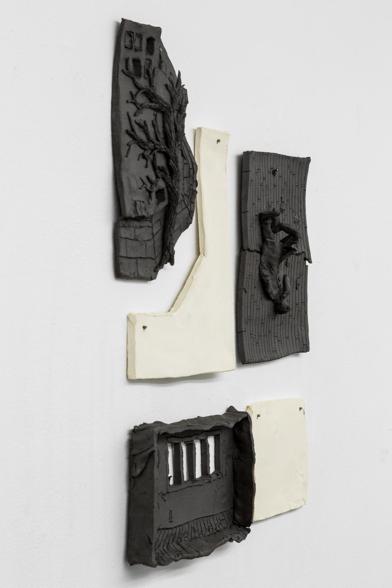 Tom Forkin, a.m. (detail),  2017,unglazed ceramic,18 x 16 x 2 in