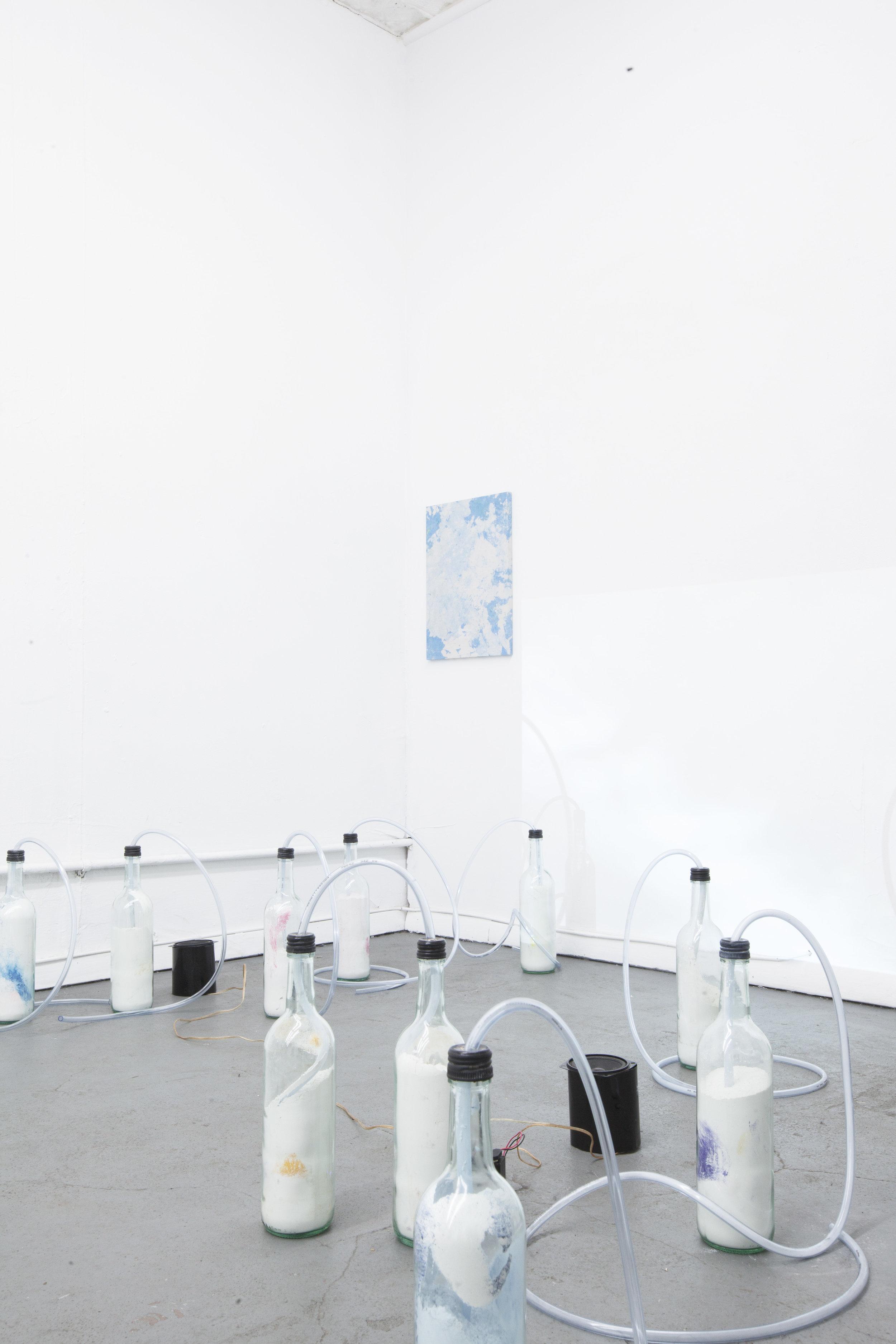 Installation view,  Kennen Sie Turner?, STL, NY, 2017