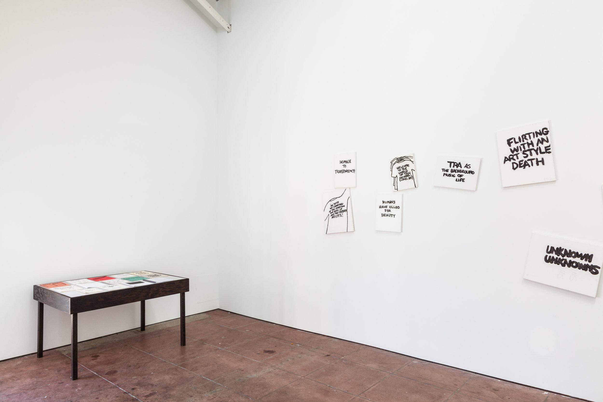 Installation view,  Wall Dancers , STL, LA, 2017