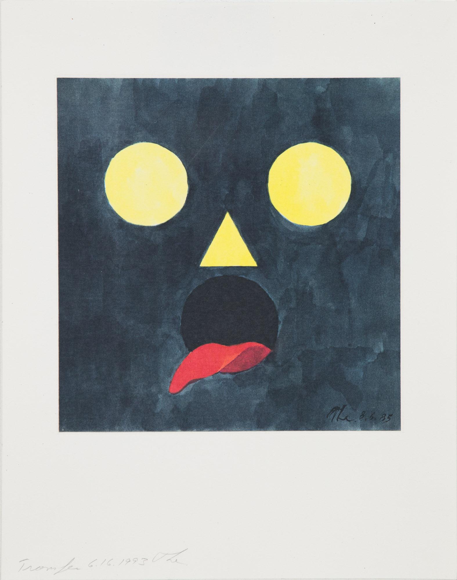 Theodore Titolo,  Untitled , 1993, transfer print, 14 x 11 in