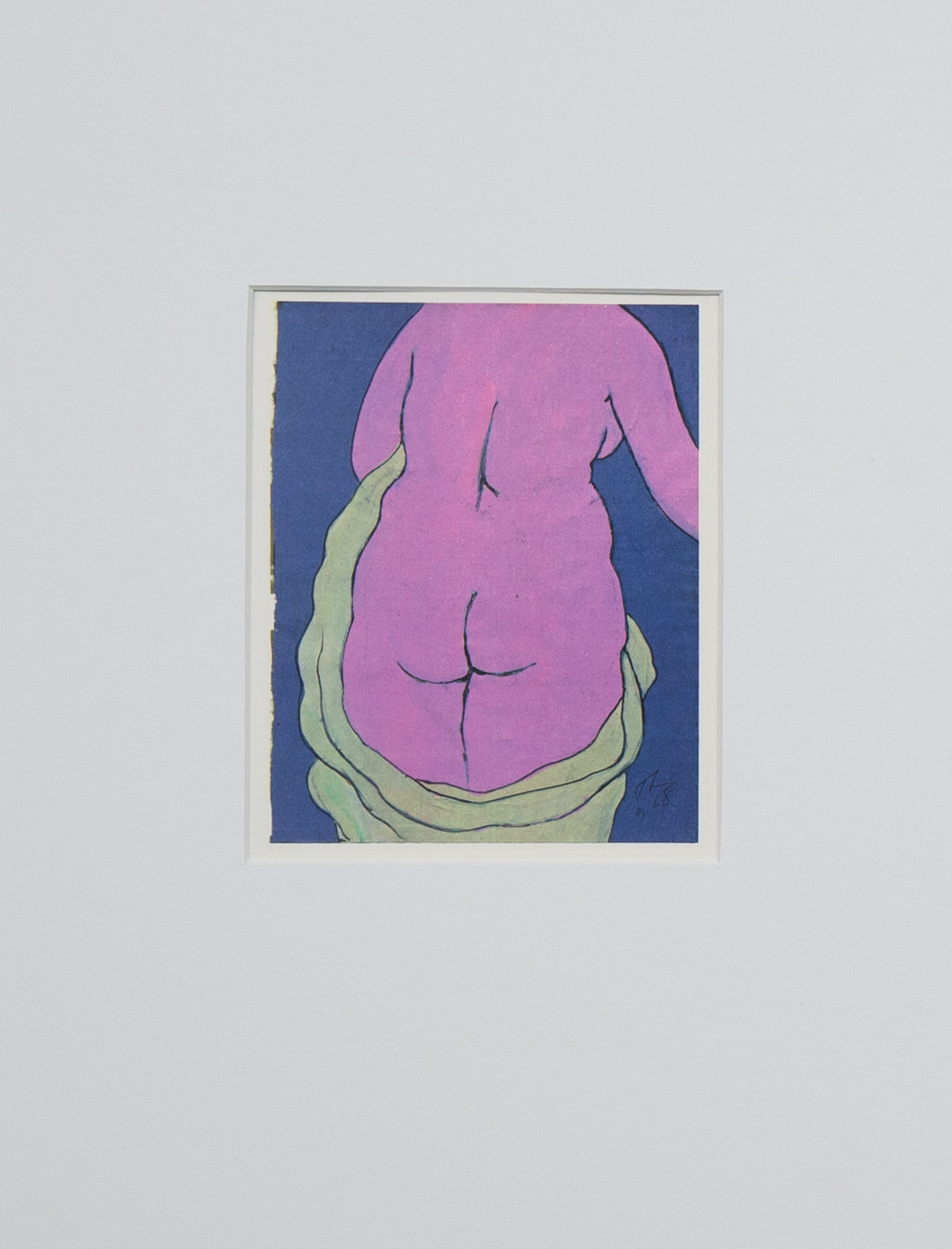 Theodore Titolo,  Myself as a Woman , 1968/1994, transfer print, 16 x 12 in