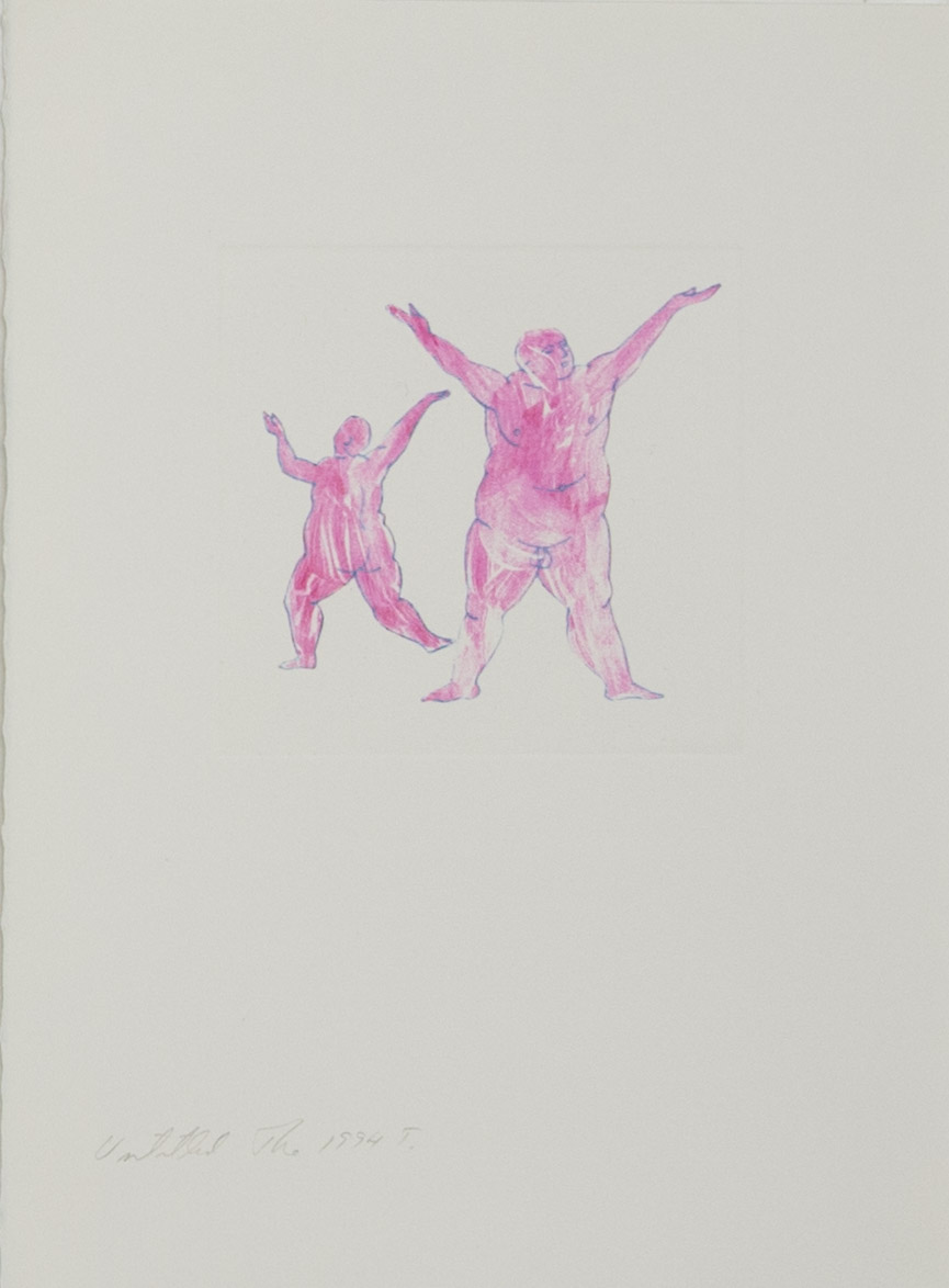 Theodore Titolo,  Untitled , 1994, transfer print, 15 x 11 in