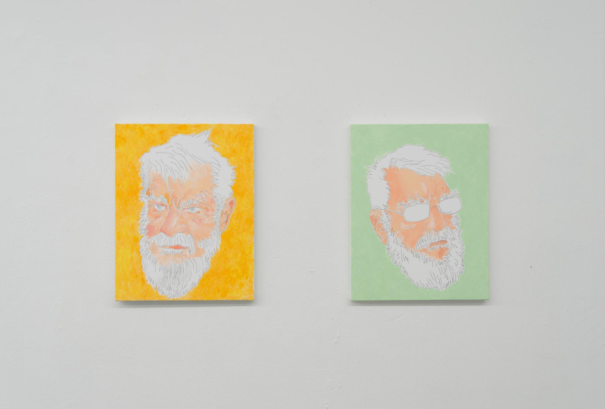 Installation view, My Love, Dan and Potato Chips , STL, NY, 2017