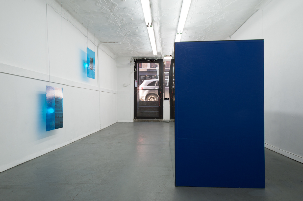 Installation view,  Type of Blue , STL, NY, 2018