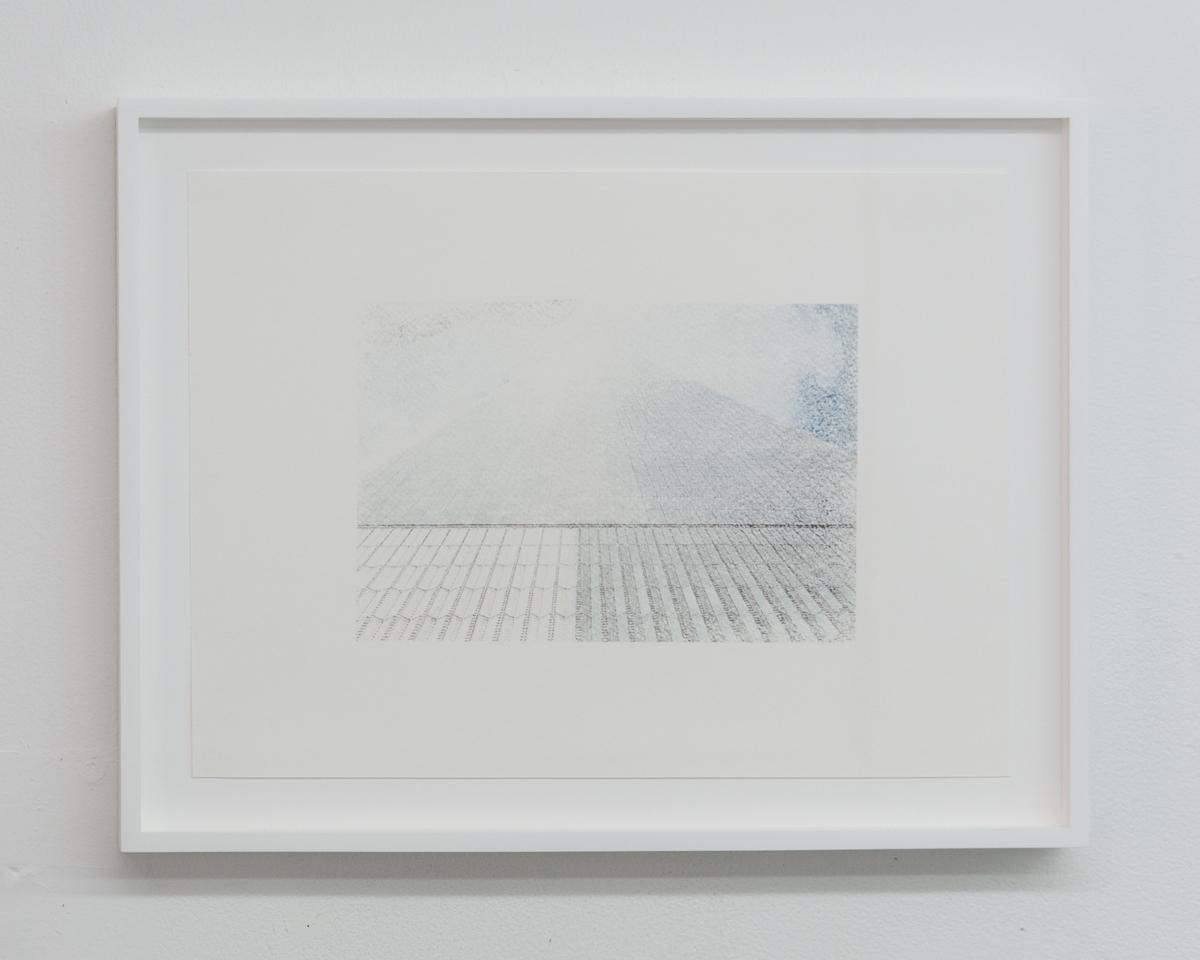 Elizabeth Karp-Evans,   Untitled , 2017, framed color photo transfer on paper, 13 ½ × 17 ½ in