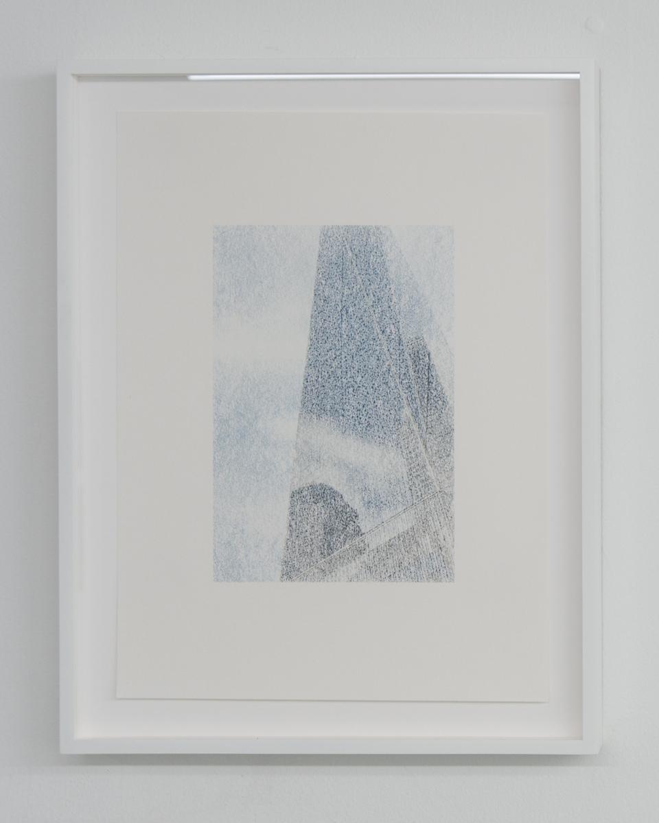Elizabeth Karp-Evans, Untitled , 2017, framed color photo transfer on paper, 17 ½ × 13 ½ in