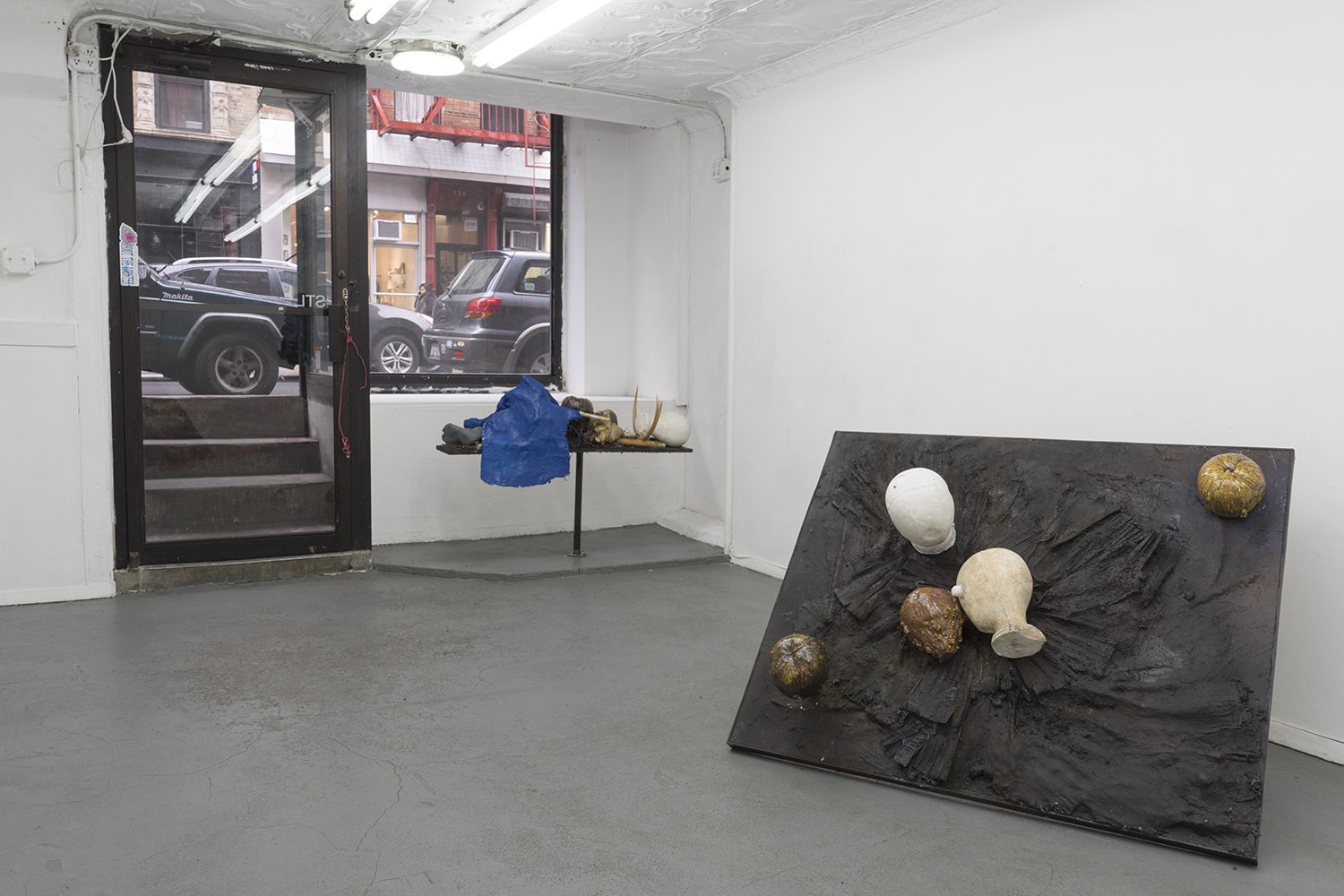 Installation view,  Ties That Bind , STL, NY, 2018