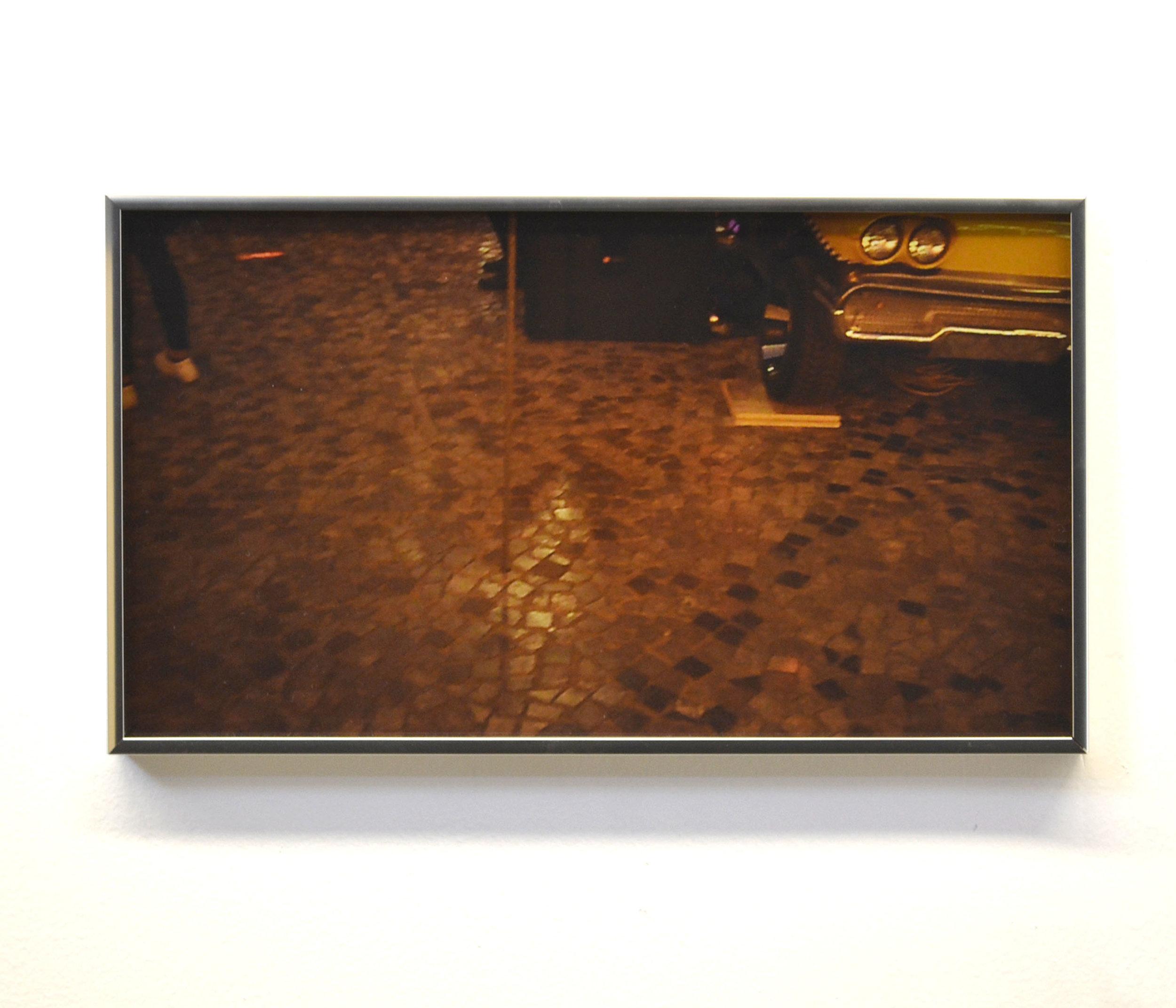 Megan Plunkett, Computer (Voice), 2018, digital C-print on glossy paper, aluminum frames, 9 × 16 in