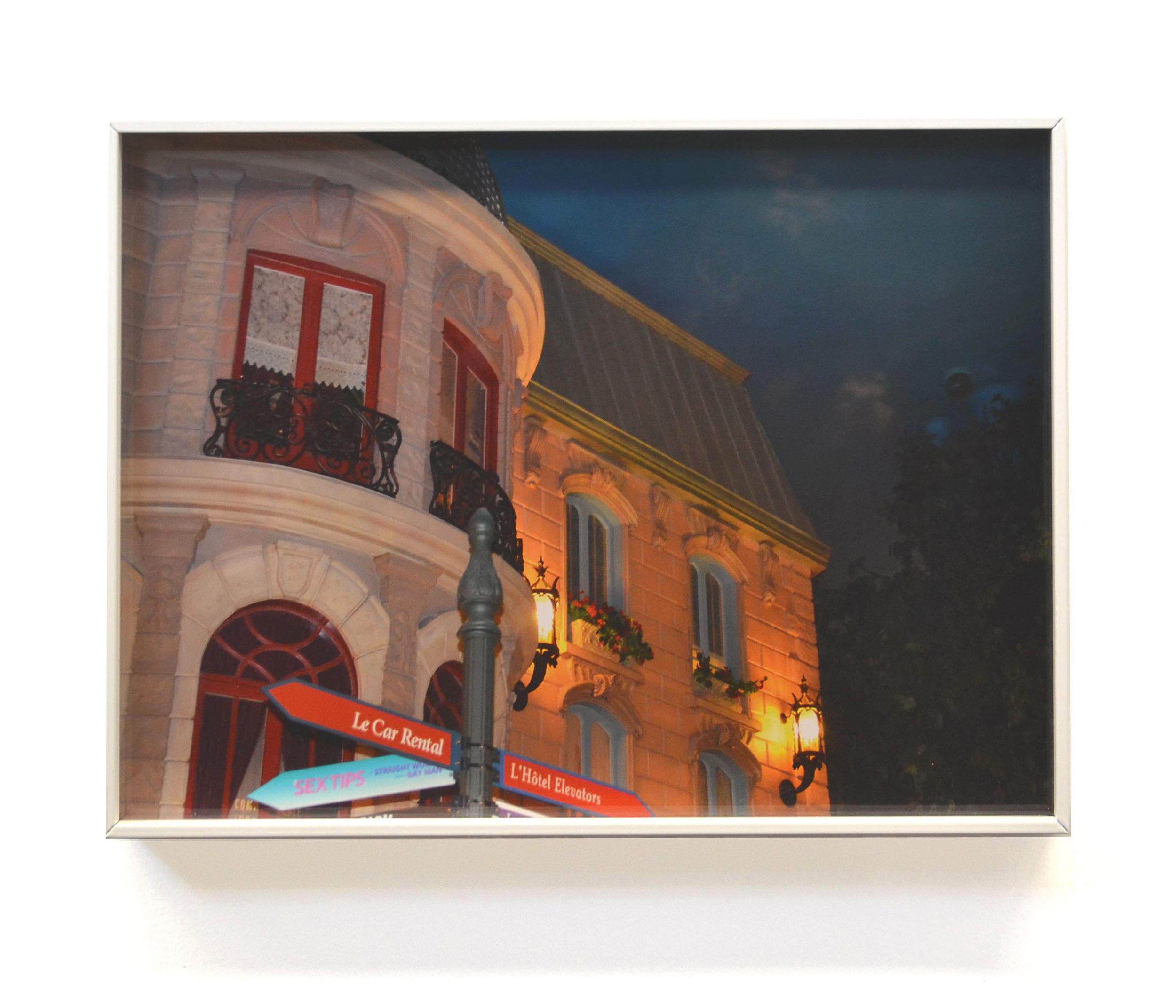 Megan Plunkett, Woman, 2018, digital C-print on super glossy paper, powder coated aluminum frames, 12 × 17 in