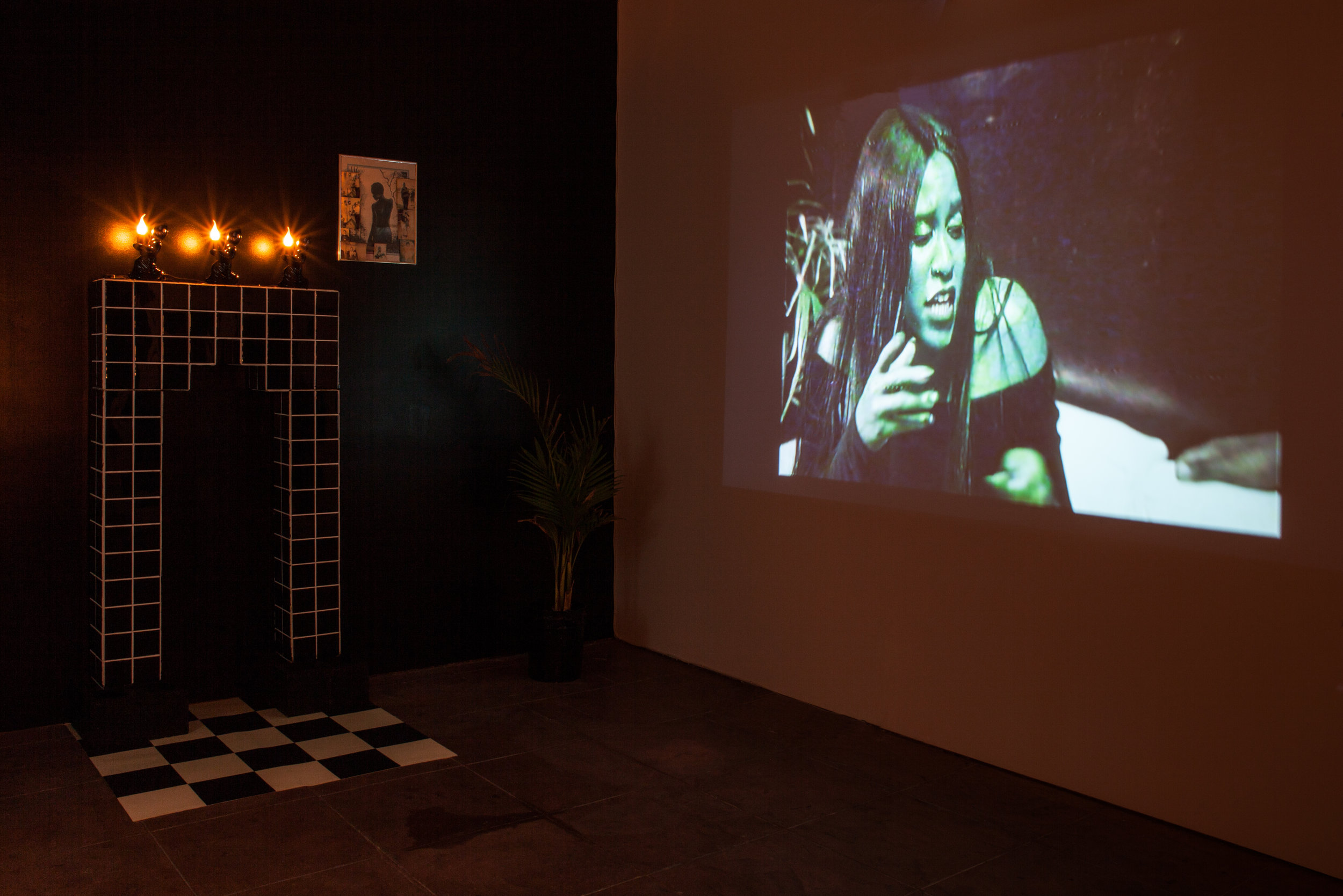 Installation view, T he Worst Witch,  STL, LA, 2018