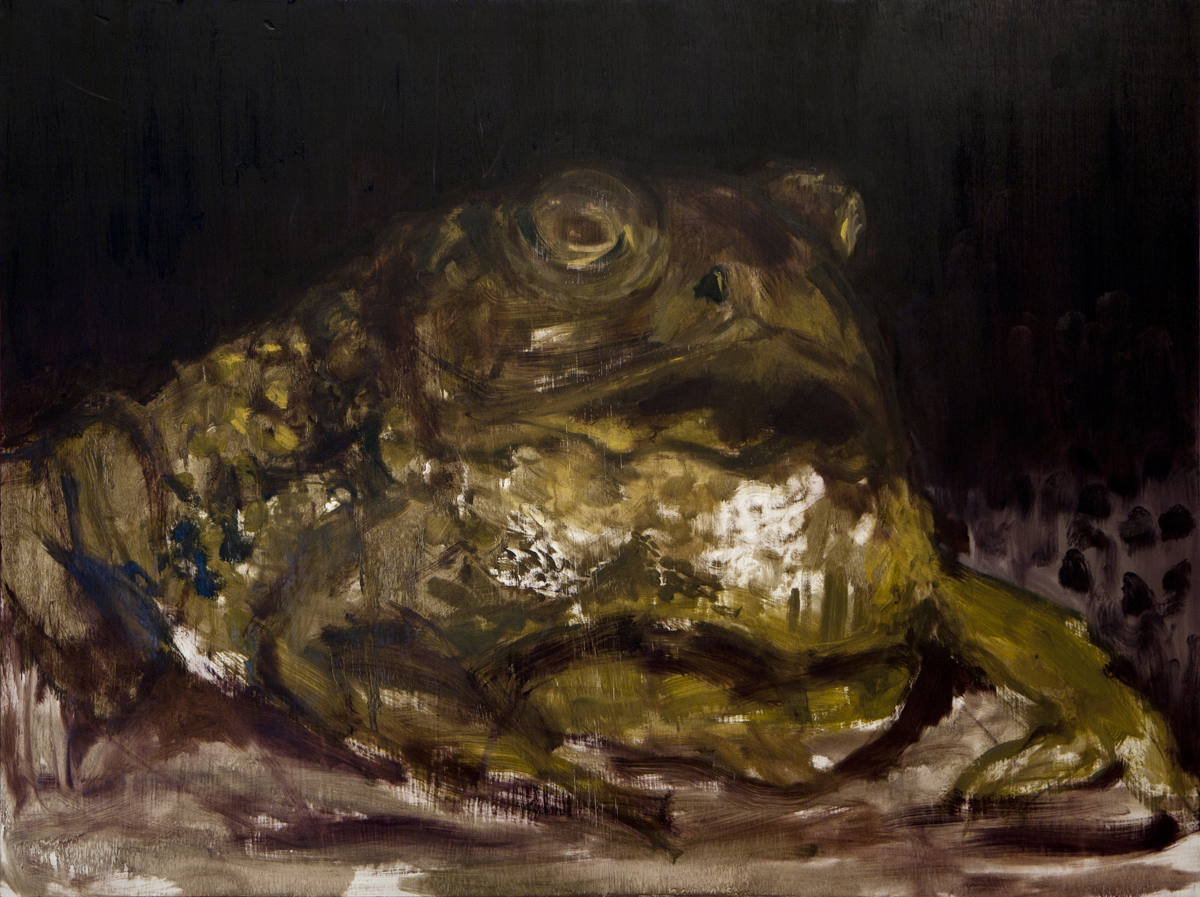 33 x 48 inches, oil on panel, 2012