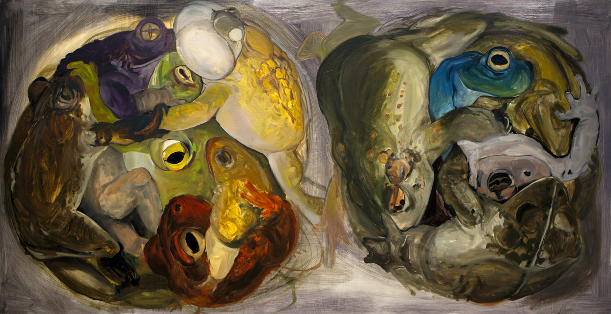 48 x 96 inches, oil on panel, 2012